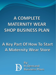A Complete Maternity Wear Shop Business Plan: A Key Part Of How To Start A Maternity Wear Store