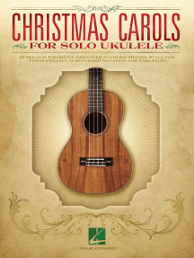 Christmas Carols for Solo Ukulele: for Tenor Ukulele