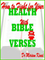 How to Fight for your Health with Bible Verses 2nd Edition