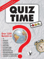 Quiz Time on The Go: -