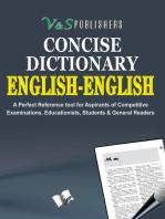 English - English Dictionary