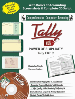 Tally ERP 9 (Power of Simplicity)