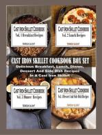 Cast Iron Skillet Cookbook Box Set