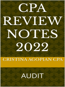 CPA Review Notes: Audit