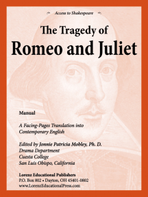 Romeo and Juliet Manual: A Facing-Pages Translation into Contemporary English