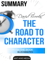 David Brooks' The Road to Character Summary