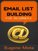 Email List Building for Beginners