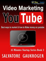Video Marketing Youtube (45 Minutes Startup Series, #2)