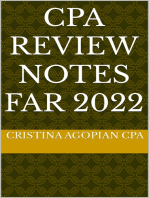 CPA Review Notes: FAR