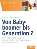 Von Babyboomer bis Generation Z