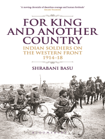 For King and Another Country: Indian Soldiers on the Western Front, 1914-18