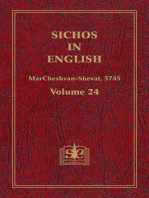 Sichos In English, Volume 24