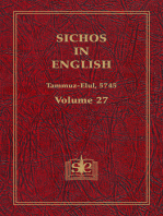 Sichos In English, Volume 27