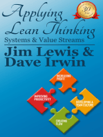 Applying Lean Thinking: Systems and Value Streams