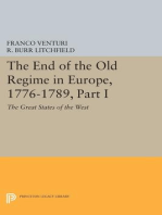 The End of the Old Regime in Europe, 1776-1789, Part I