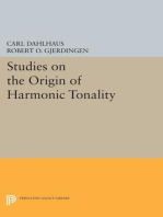 Studies on the Origin of Harmonic Tonality