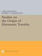 Studies on the Origin of Harmonic Tonality