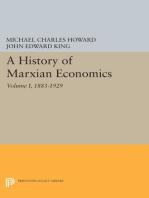 A History of Marxian Economics, Volume I