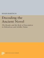 Decoding the Ancient Novel