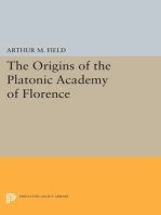 The Origins of the Platonic Academy of Florence