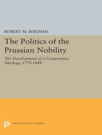 The Politics of the Prussian Nobility