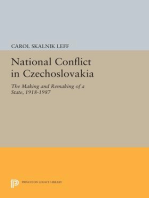 National Conflict in Czechoslovakia