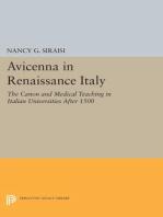 Avicenna in Renaissance Italy
