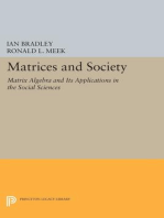 Matrices and Society