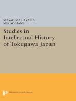 Studies in Intellectual History of Tokugawa Japan