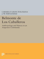 Belmonte De Los Caballeros: Anthropology and History in an Aragonese Community
