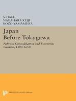 Japan Before Tokugawa