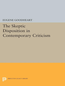 The Skeptic Disposition In Contemporary Criticism
