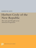 Herbert Croly of the New Republic