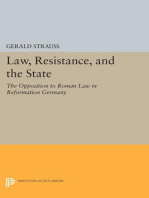 Law, Resistance, and the State