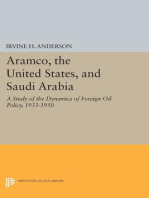 Aramco, the United States, and Saudi Arabia