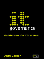 IT Governance: Guidelines for Directors