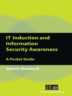 IT Induction and Information Security Awareness: A Pocket Guide