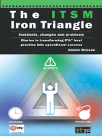 The ITSM Iron Triangle