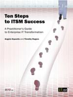 Ten Steps to ITSM Success