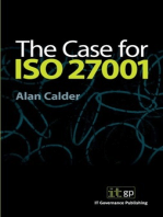 The Case for ISO27001:2013