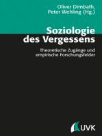 Soziologie des Vergessens