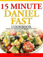 Daniel Fasting – 15 Minutes Recipes for Healthy Mind and Body