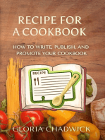 Recipe for a Cookbook