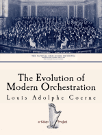 The Evolution of Modern Orchestration