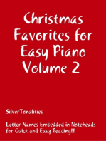 Christmas Favorites for Easy Piano Volume 2