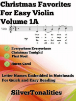 Christmas Favorites for Easy Violin Volume 1 A