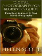 Digital Photography for Beginner's Guide