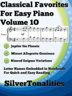 Classical Favorites for Easy Piano Volume 1 O