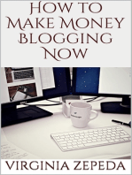 How to Make Money Blogging Now