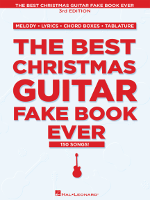 The Best Christmas Guitar Fake Book Ever - 3rd Edition